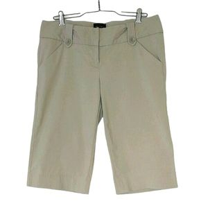 The Limited Exact Stretch Khaki Crop Pants
